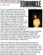 Interview about Marathon, Austin Chronicle, 2009